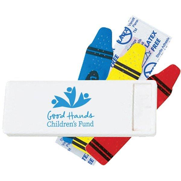 Crayon Bandage Dispenser