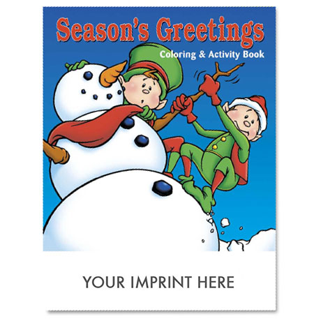 Season's Greetings Coloring & Activity Book