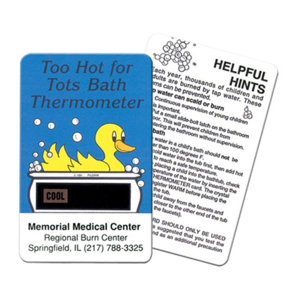 Duck Card Bath Thermometer