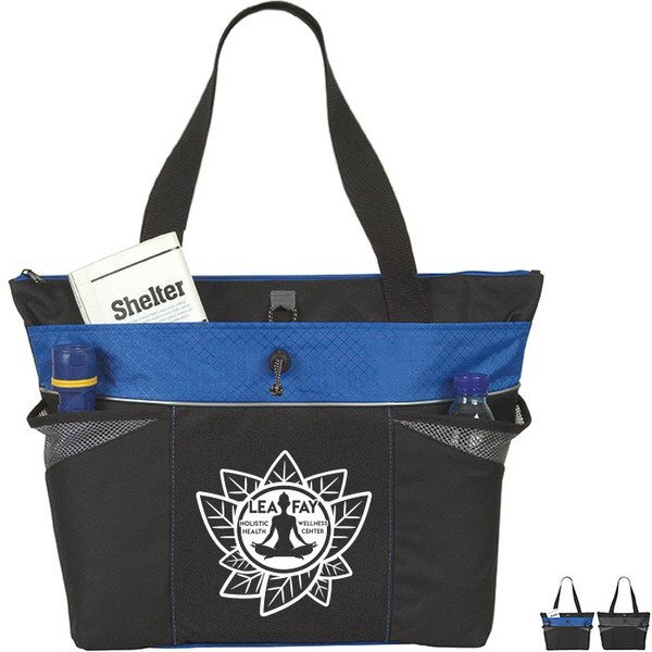 Toggle Lots-of-Pockets 600D Large Tote