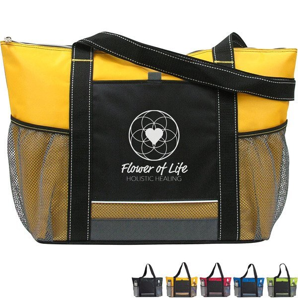 Icy Blast Bright Cooler Tote