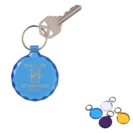 Diamond Cut Key Tag