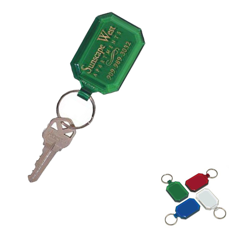 Gem Cut Key Tag