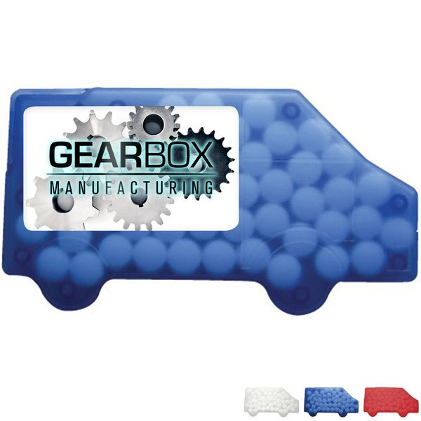 Truck Shaped Credit Card Sugar Free Mints