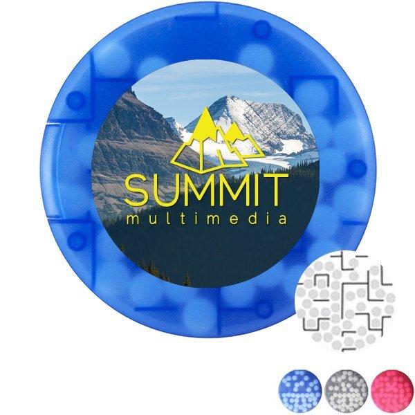 Round Puzzle Sugar Free Mints