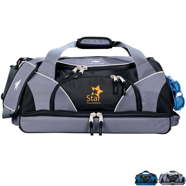 High Sierra® Crunk Cross Polycanvas Sport Duffel, 24""