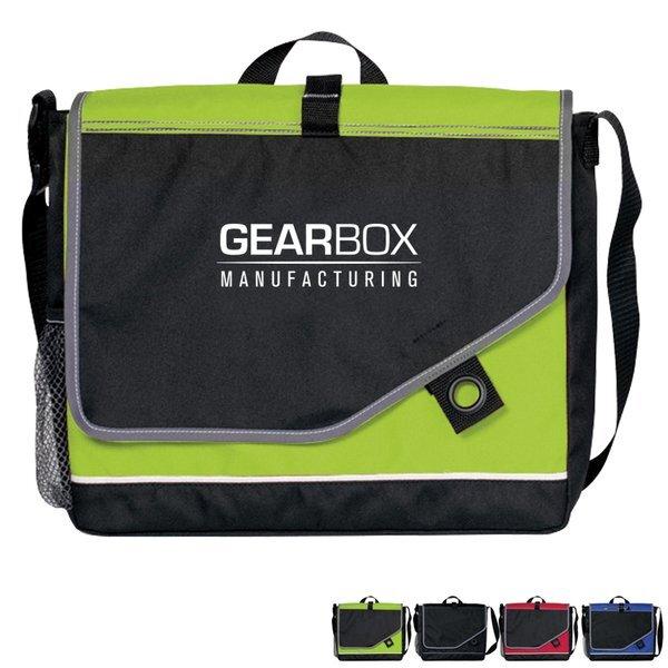 Tempo 600D Polyester Messenger Bag