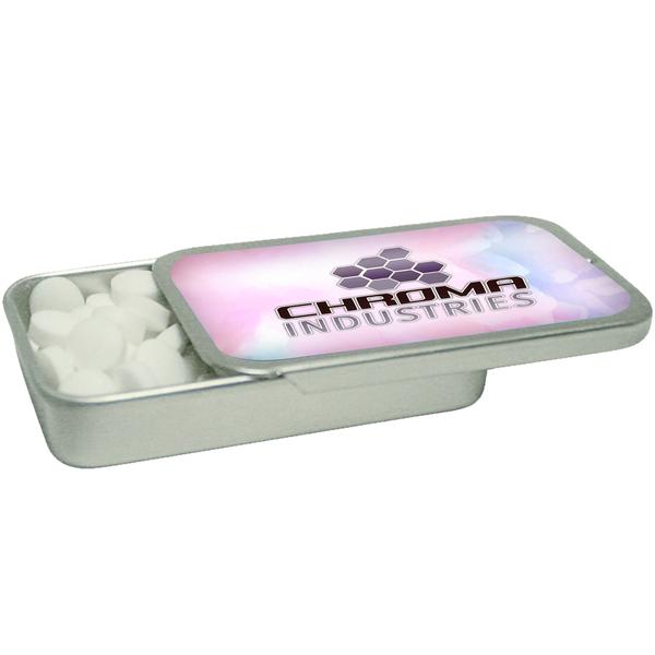 Slider Tin with Sugar Free Mints