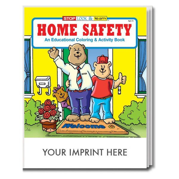 Home Safety Coloring & Activity Book