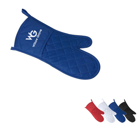 Poly Cotton Twill Oven Mitt