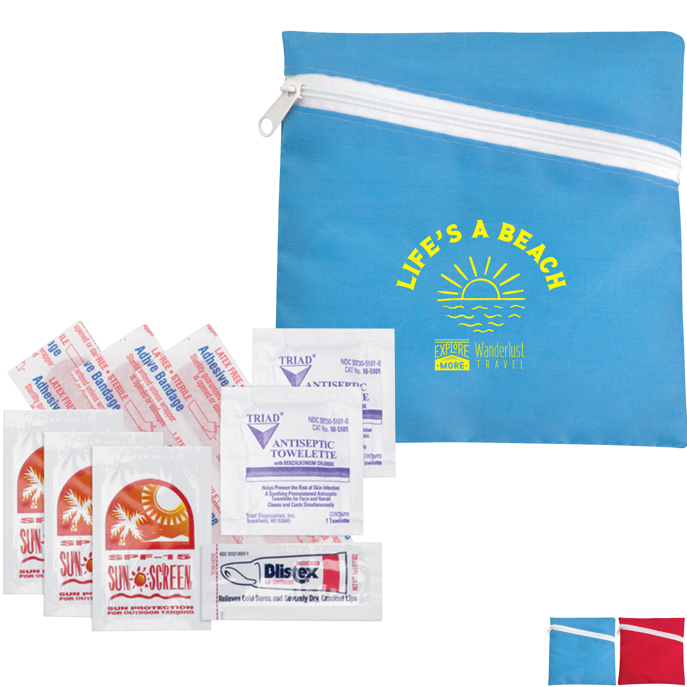 Beach First Aid Amenities Kit
