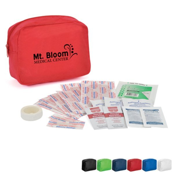 Handy First Aid Kit in Zip Bag