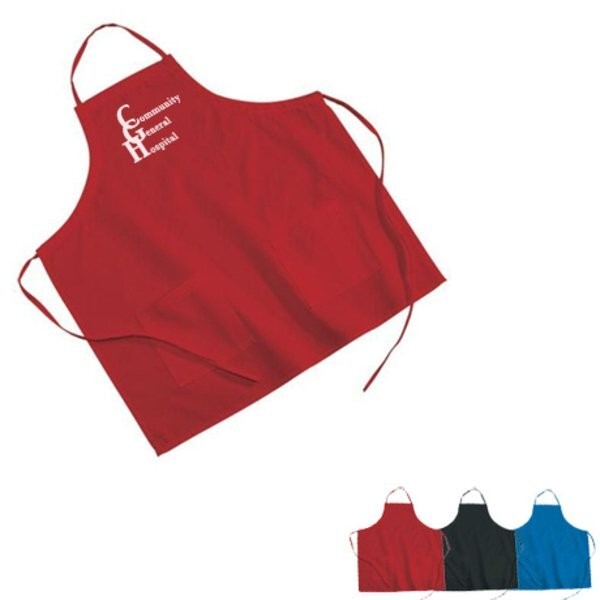 Poly/Cotton Twill BBQ Apron - Colors