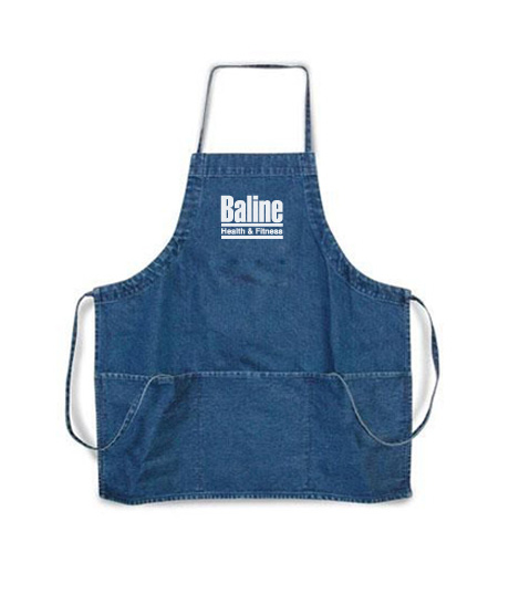 Denim Three-Pocket Apron