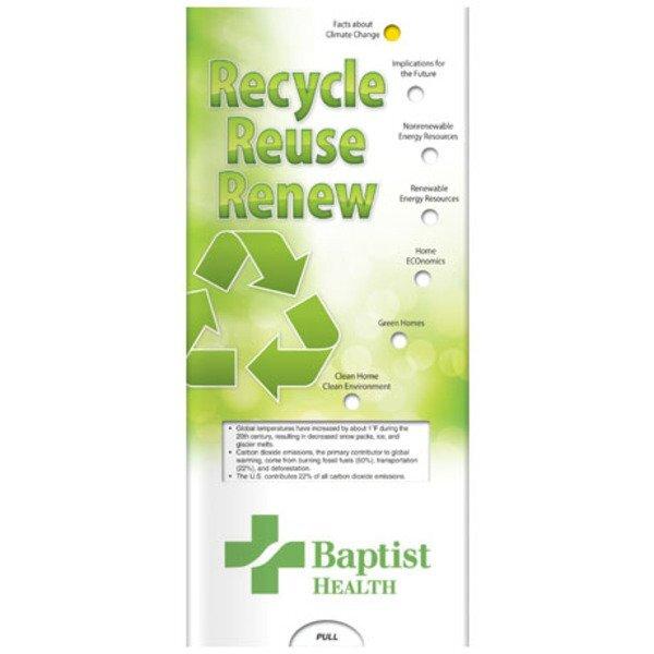 Recycle, Reuse, Renew Pocket Sliders™