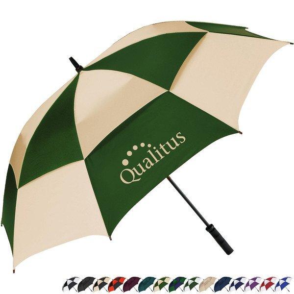 "MVP Manual Open Golf Umbrella, 62"" Arc"