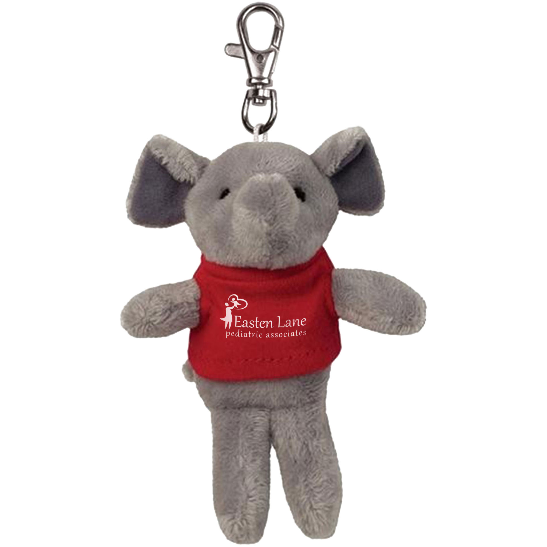 Elephant Wild Bunch Plush Key Tag