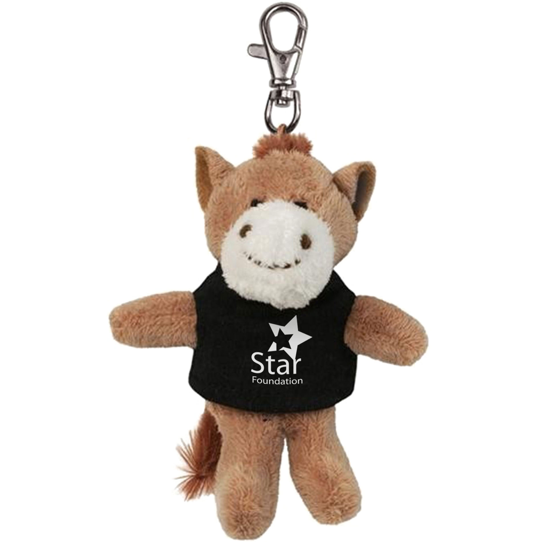 Horse Wild Bunch Plush Key Tag