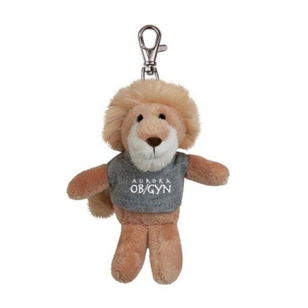 Lion Wild Bunch Plush Key Tag