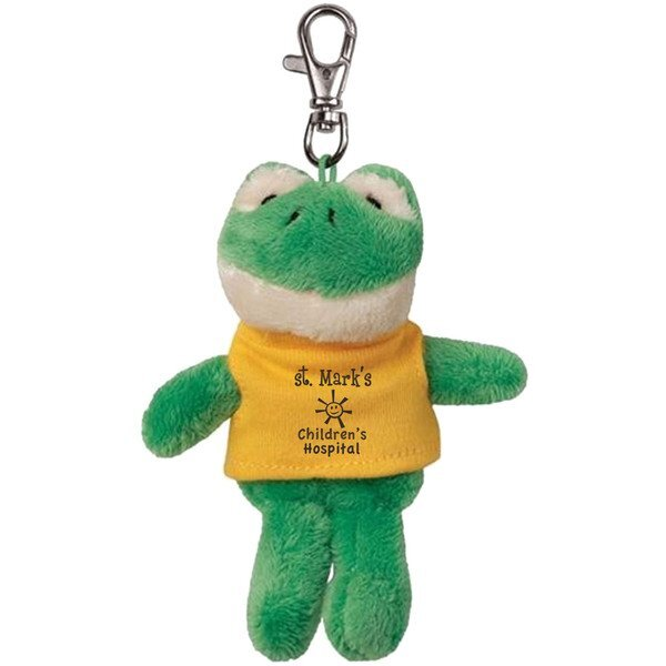 Frog Wild Bunch Plush Key Tag