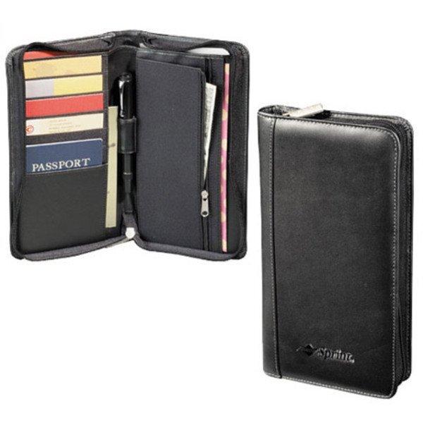 Millennium Leather Travel Wallet