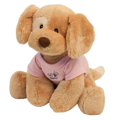 "Riley Gund® Plush Dog, 8"""