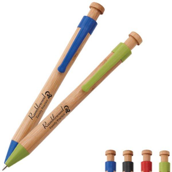 Panda Bamboo Ballpoint Pen
