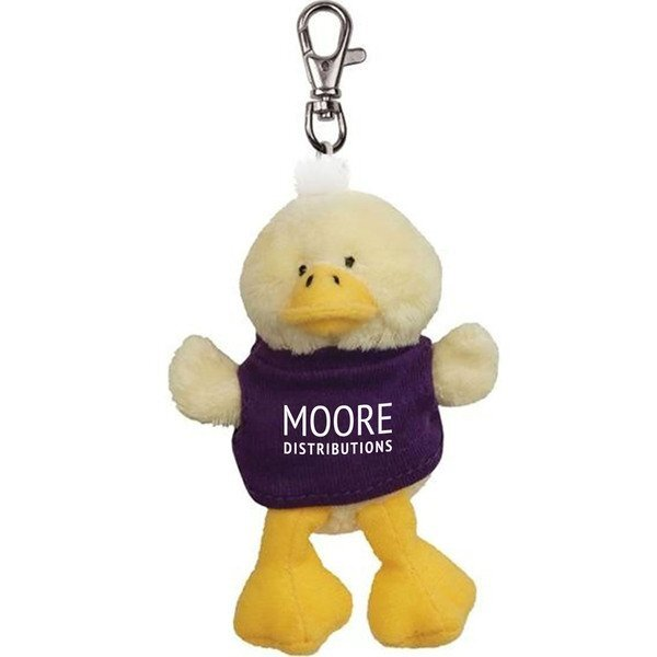 Duck Wild Bunch Plush Key Tag