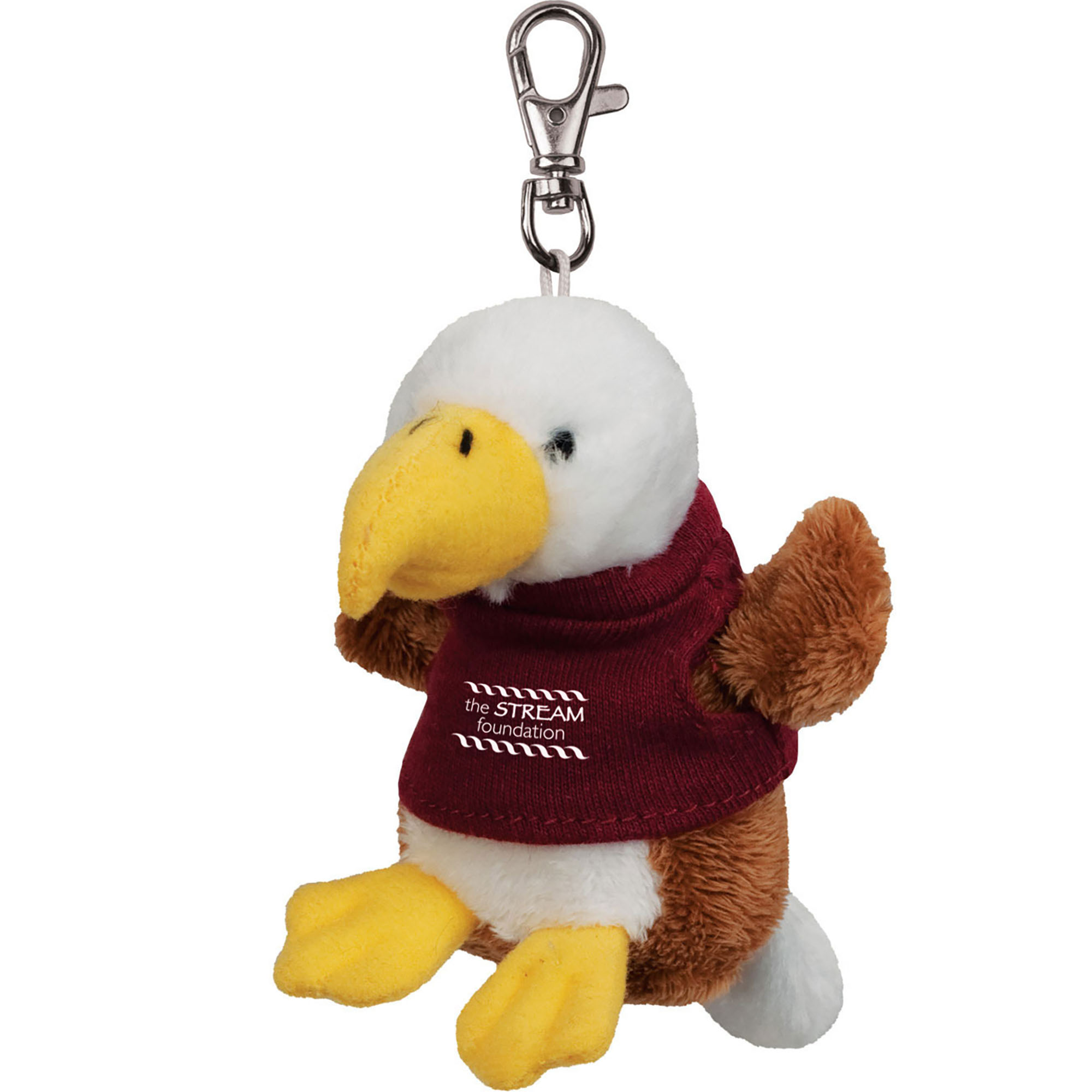Eagle Wild Bunch Plush Key Tag