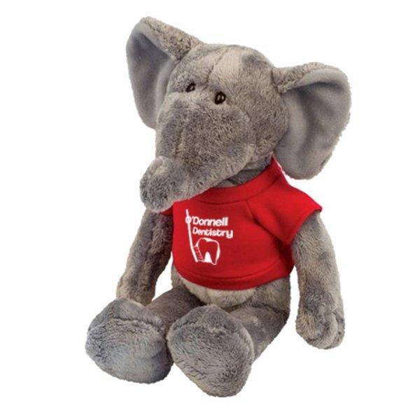 "Elephant Wild Bunch Plush, 11"""