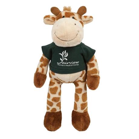 """Giraffe Wild Bunch Plush, 11"""""""