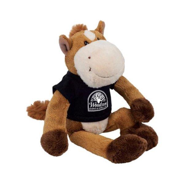 "Horse Wild Bunch Plush, 11"""