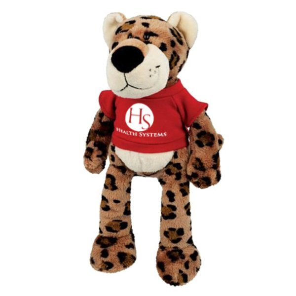 Leopard Wild Bunch Plush, 11""