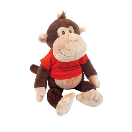 Monkey Wild Bunch Plush, 11""