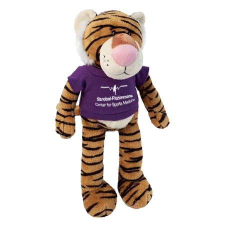 "Tiger Wild Bunch Plush, 11"""