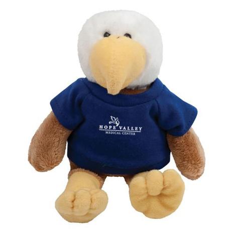 """Eagle Plush Mascot, 8"""""""