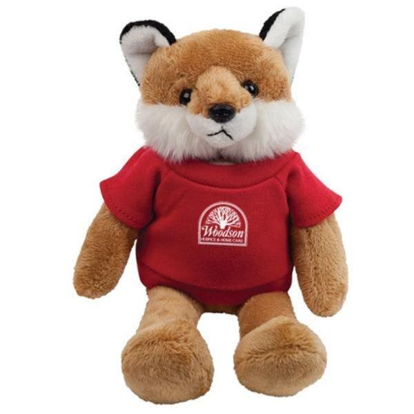 """Fox Plush Mascot, 8"""""""