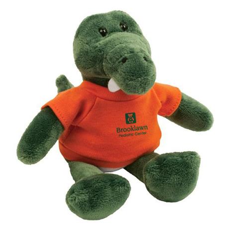 "Gator Plush Mascot, 8"""