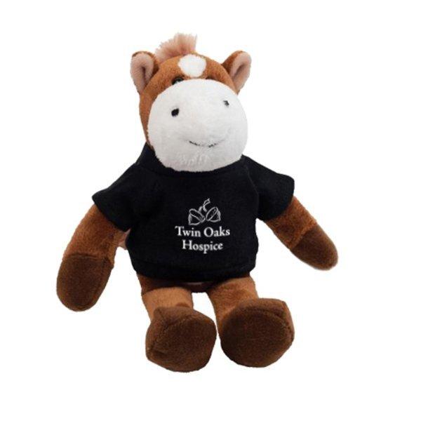 """Horse Plush Mascot, 8"""""""