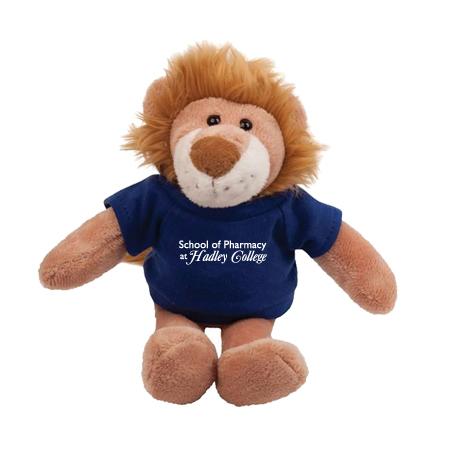 """Lion Plush Mascot, 8"""""""