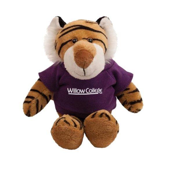 "Tiger Plush Mascot, 8"""