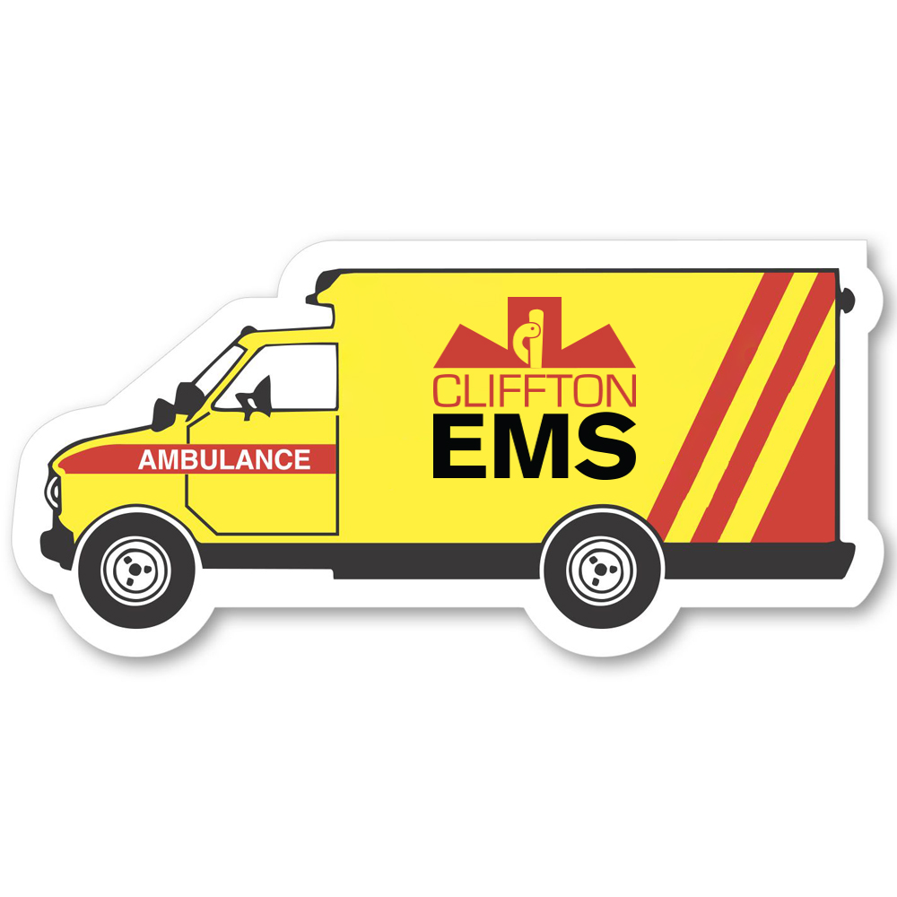 Ambulance Shape Magnet