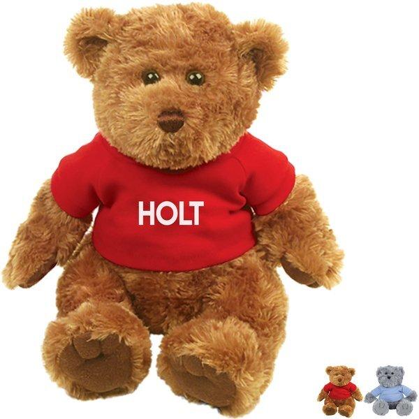 """Traditional Plush Teddy Bear, 9"""" Sitting"""