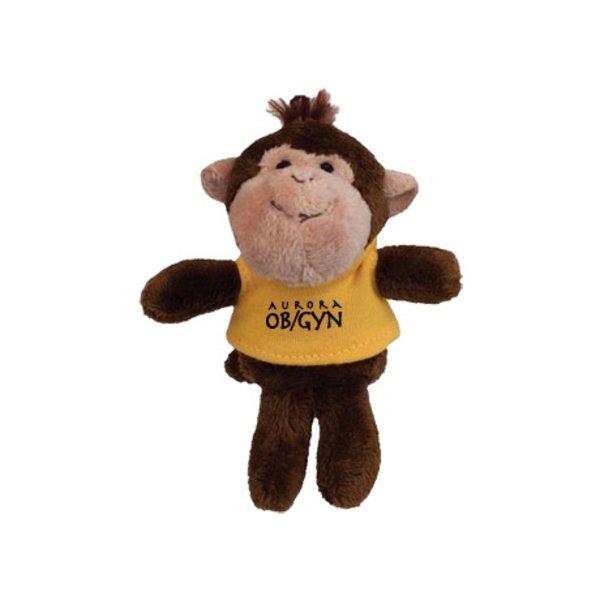Monkey Wild Bunch Plush Magnet