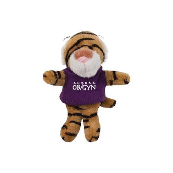 Tiger Wild Bunch Plush Magnet