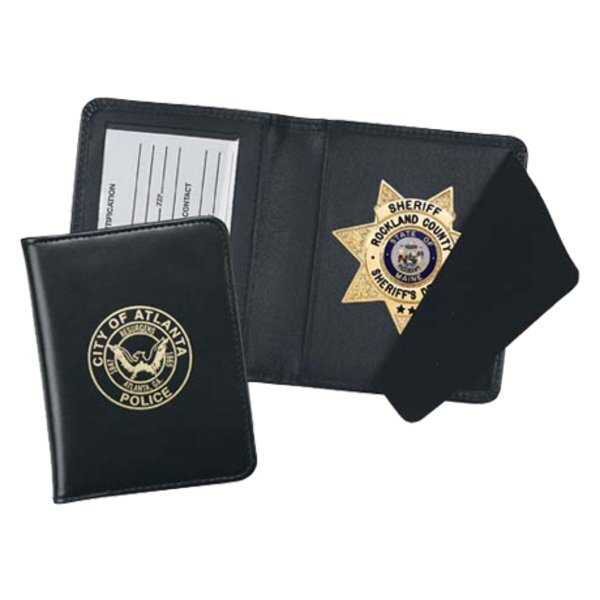 Leather Badge Case