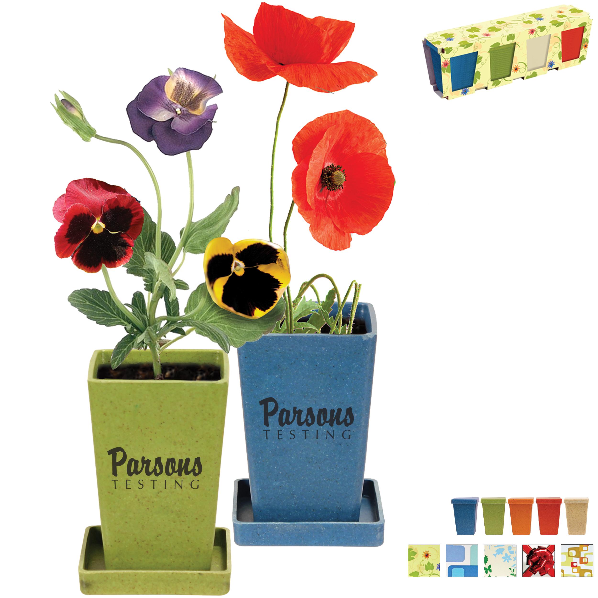 Flower Garden Set, 4 Pack