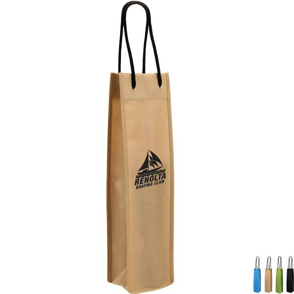 Single Wine Bottle Non-Woven Bag
