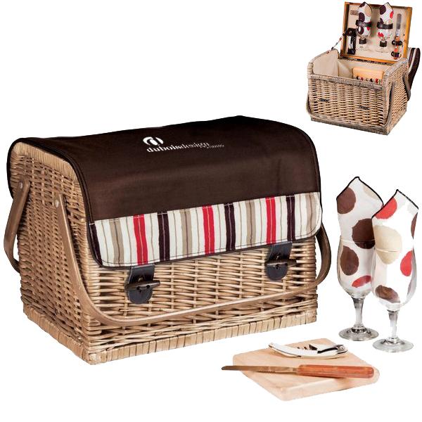 Kabrio Wine & Cheese Picnic Set - Moka Collection