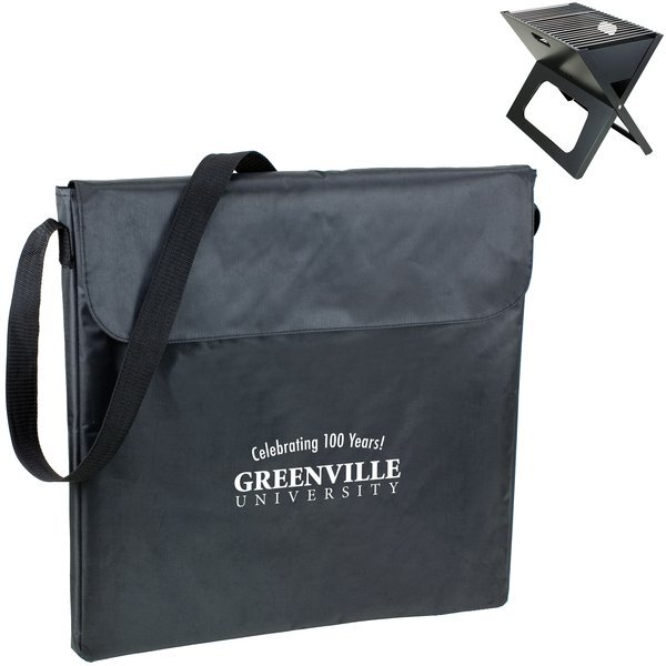 X-Grill Portable Charcoal Grill w/ Tote